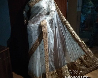 Royal exotic designer saree blouse