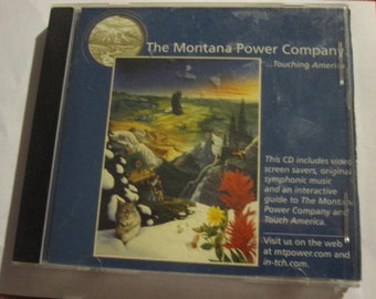 Montana Power Company and Touch America MPC CD Screen Savers & Guide -
