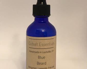 Blue Beard - Beard Oil - Beard Softener - Beard Cleaner - Essential Oils - Skincare - Beard Care