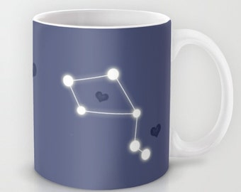 Zodiac Mug Constellation Personalized - 11 o 15 oz Astrology Star Sky Wedding Coffee Sky Gift Astrologer Women Love Bridesmaid Birthday Cute