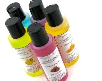 Réduit--désinfectant parfumé à la main avec la vitamine E 2 oz ~ soins de la peau ~ hydratante ~ Aloe Vera