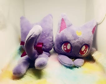 Diana Plurple Cat Plush