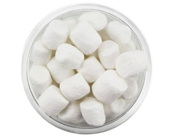 Tiny White Marshmallows - little white marshmallow sprinkles, marshmallow sprinkles, miniature marshmallows, mini marshmallows