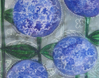 Hydrangeas Original Painting