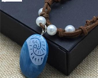 Princess moana Necklace Pendant Dragon Dinosaur Chain Woemn Mens gift