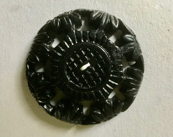Fancy Vintage Early Plastic Buttons for Sewing Knitting and Crafts