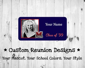 Class Reunion Name Tags/ID's
