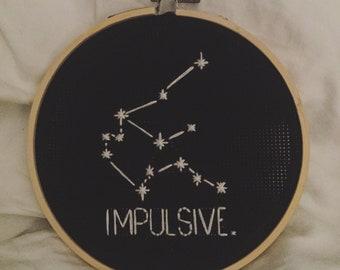 """Aquarius """"Impulsive"""" Constellation"""