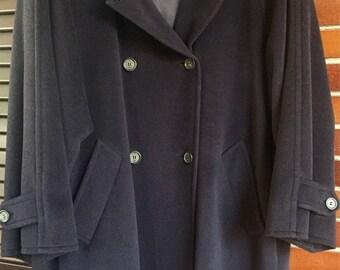 Cappotto pure lana vergine vintage Max Mara