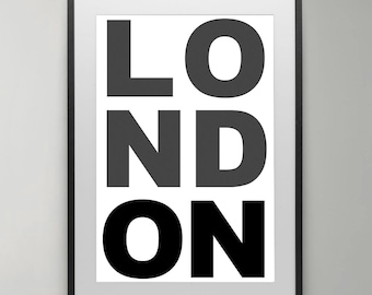 England Photo, Black and White, London wall art, London,  Instant Download, DIY, Art Print, Home decor, London Wall Art, Typography Poster.