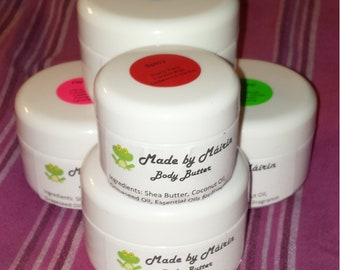 Handcrafted Whipped Body Butter