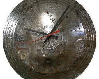 1946 - 1949 Hudson Commodore Hubcap Clock - Classic Car Retro Wall Decor - 1947 1948