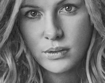 Custom Portrait Drawing, Custom Pencil Drawing, Custom Portrait,Portrait from Photo