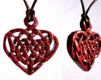"Amaranth ""Heart"" pendant"