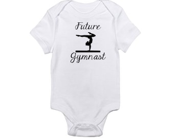 Future Gymnast -  Baby Onesie