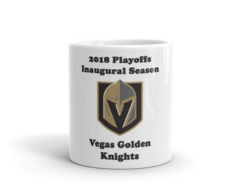 Vegas Golden Knights Playoffs 2018 Mug
