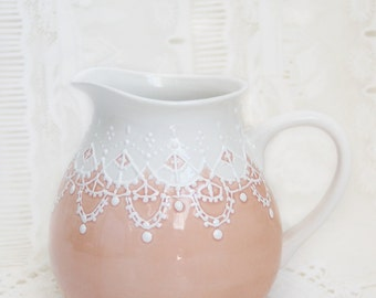Victorian styled water pitcher