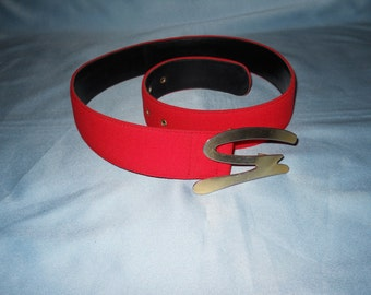 Authentic Genny belt ! Vintage Belt !  Made in Italy