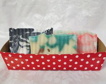 Bar soap gift set, gift for her, gift for him, natural soap, homemade soap, set of 3, gift basket, gift soap, fragrance oil soap, wholesale