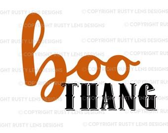 Boo Thang SVG Cut File