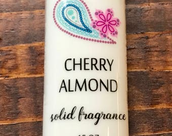 Cherry Almond Solid Fragrance .15 oz Tube