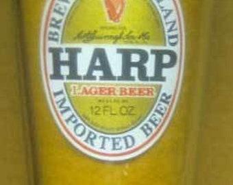 Harp Lager Beer Pint Glass