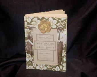 """Handbound Journal, """"The Lover's Quarrel"""""""
