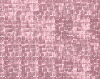 Dear Stella Intermix, Fabric by the Yard, Pink Net Fabric, Intermix Primrose Net, Textured Quilt Fabric, Stella 370