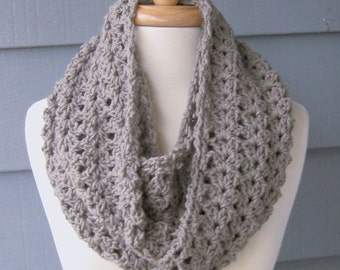 PATTERN S-063 / Crochet Pattern / Shelley Infinity ... worsted 325 yards