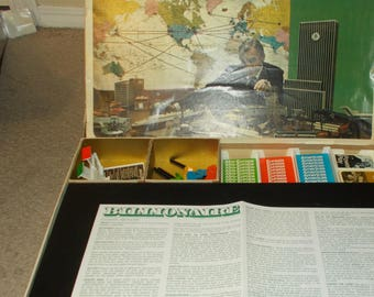 Fun Vintage 1973 Billionaire Board Game Parker Brothers Complete With Instructions