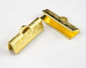 6/8 Inch Gold Tone Bar Clamp #MFE024