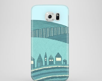 Fairytale mobile phone case / Samsung Galaxy S7, Samsung Galaxy S6, Samsung Galaxy S6 Edge, Samsung Galaxy S5 / countryside phone case