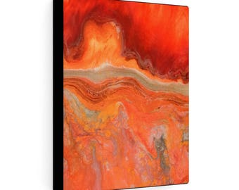 """Gallery Wraps Canvas """"Fire Stone #2"""""""