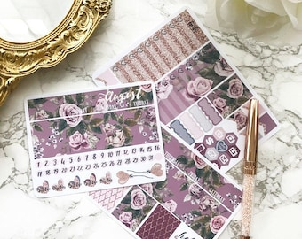 MINI Happy Planner August Monthly View Kit
