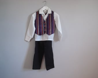 Vintage boys formal outfit - 4 pieces - 3-4 years