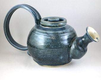 Dusky Blue Teapot