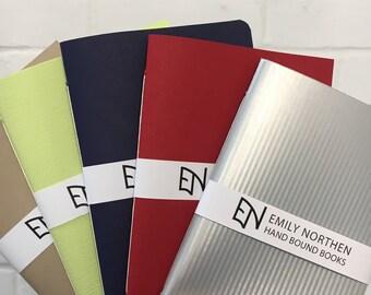 Handmade pocket notebooks