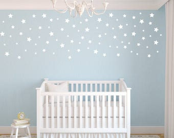 Peel and Stick Decals Stars, Star Wall Decals, Nursery Wall Decals, Confetti Star Decals, Star Wall Stickers, Baby Room Decor, Star Stickers