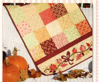 Autumn Sparkle Table Runner
