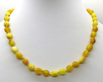 Natural Genuine Baltic Amber Baby Teething Necklace Honey Color