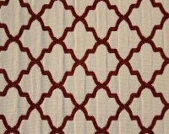 SALE!!!!,Casablanca Burnt Orange Marcovaldo Fabric, Fabric By The Yard