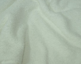 "Off white Terry Fabric walk Terry Heavy 2seitig fabrics, ""fabrics-City"", 2761"