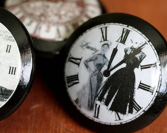 Vintage Knobs Time for Luxury Door Pull 2 pc set