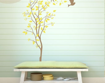 A Windy Spring - Vinyl Wall Decals