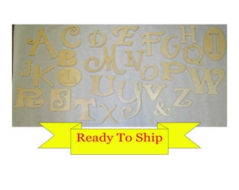 Random Wooden Alphabet Set - In Stock and Ready to Ship - #2