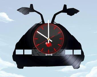 Back to the Future Vinyl Record Wall Clock Home Decor