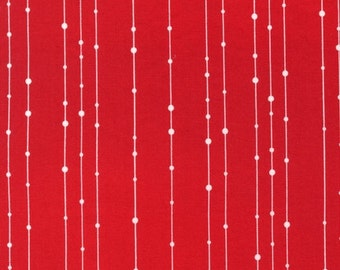 Skinny Vines in Celebration Red by Valentina Ramos for Robert Kaufman, yard
