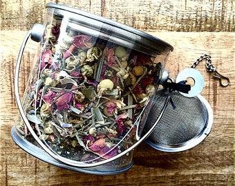 Tea bath - gourmet  - EdL Exotic teas for the bath - Tea bath - Organic, Kosher tea bath - Detox tea - Skin beautifying tea - Soak
