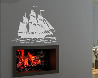 Flagship - Vinyl Wall Design