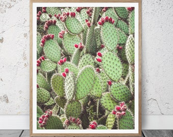cacti wall art, cacti art, prickly pear, cactus wall art, gift for mum, cactus art, art prints, cactus poster, cactus printable, printables
